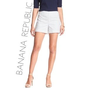 3/$50 Banana Republic cotton eyelet shorts 4 P